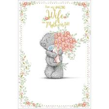 Amazing Wife Me to You Bear Mothers Day Card