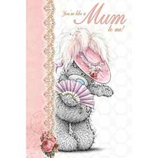 Like a Mum Me to You Bear Mothers Day Card