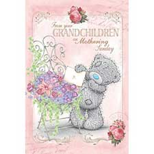 From Your Grandchildren Me to You Bear Mothers Day Card