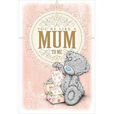 Like A Mum To Me Mothers Day Me to You Bear Card