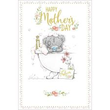 Tatty Teddy In Bath Me to You Bear Mothers Day Card