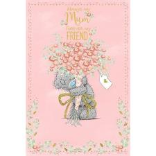 Mum Forever My Friend Me to You Bear Mothers Day Card