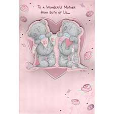 Mother from Both of Us Me to You Bear Mothers Day Card
