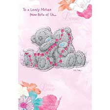 Lovely Mother from Both of Us Me to You Bear Mothers Day Card