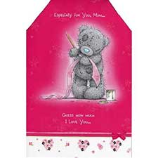 Mum Guess How Much I Love You Me to You Bear Card