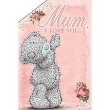 Love You This Much Me to You Bear Pop Up Mothers Day Card