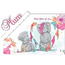 Mum from Both of Us Me to You Bear Mothers Day Card