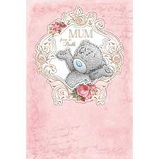 From Us Both Me to You Bear Mothers Day Card