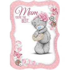Mum You're The Best Me to You Bear Mothers Day Card