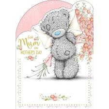 Mum With Flowers Me to You Bear Mothers Day Card