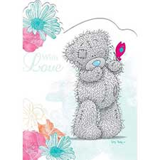 Tatty Teddy with Butterfly Special Mum Me to You Bear Mothers Day Card