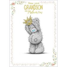 From Your Grandson Me to You Bear Mothers Day Card