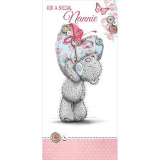 Nannie Me to You Bear Mothers Day Card