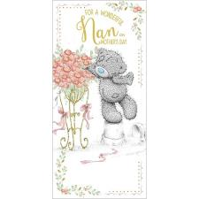 Wonderful Nan Me to You Bear Mothers Day Card