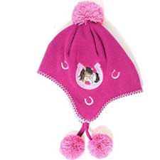 Me to You Bear Berry Fleece Bobble Hat Child One Size