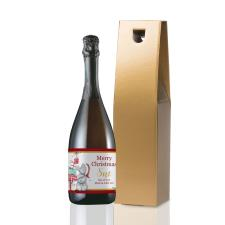 Personalised Me to You Christmas Presents Prosecco