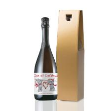 Personalised Me to You Our 1st Christmas Prosecco
