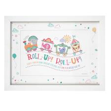 Personalised Tiny Tatty Teddy Little Circus Roll Up A4 Framed Print
