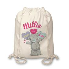 Personalised Me to You Pastel Pop Drawstring Bag