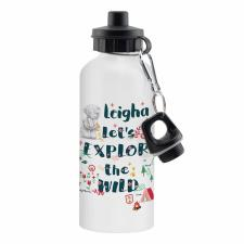 Personalised Me to You Let's Explore the Wild Drinks Bottle