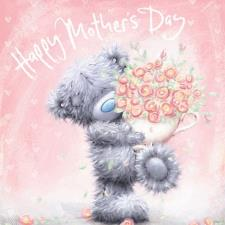 Tatty Teddy With Flowers Me to You Bear Mothers Day Card
