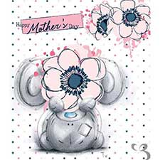 Happy Mothers Day Sketchbook Me to You Bear Card
