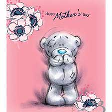 Happy Mothers Day Pink Sketchbook Me to You Bear Card
