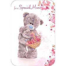 Special Mum Photo Finish Me to You Bear Mothers Day Card