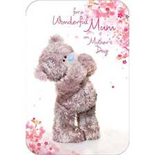 Wonderful Mum Photo Finish Me to You Bear Mothers Day Card