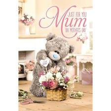 Just For You Mum Me to You Bear Mothers Day Card