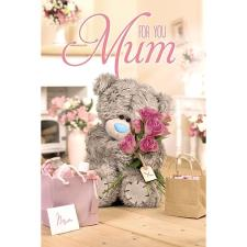 Mum Bear With Roses Me to You Bear Mothers Day Card