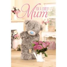 3D Holographic Lovely Mum Me to You Bear Mothers Day Card