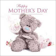 3D Holographic Happy Mothers Day Me to You Bear Card