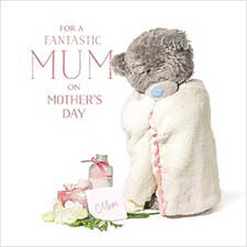 3D Holographic Fantastic Mum Me to You Mothers Day Card