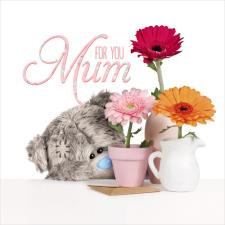 3D Holographic Mum Me to You Bear Mothers Day Card