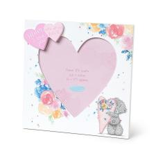 Mum I Love You Heart Shaped Me to You Bear Photo Frame