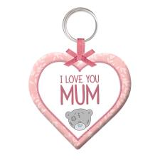 Mum Plush Heart Me to You Bear Keyring