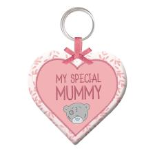 Mummy Plush Heart Me to You Bear Keyring