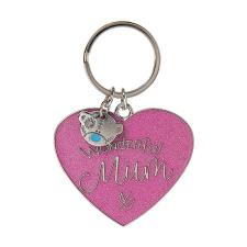 Wonderful Mum Enamel Me to You Bear Key Ring