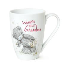 World's Best Grandma You Me to You Bear Mug