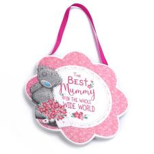 Best Mummy In The World Me to You Bear Plaque