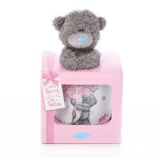 Mum Me to You Bear Mug & Plush Gift Set