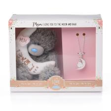 "Mum Me to You Bear 5"" Plush & Necklace Gift Set"