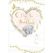 Mum Love You To The Moon Me to You Bear Mother's Day Card