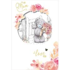For My Mum Handmade Me to You Bear Mother's Day Card