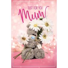 3D Holographic Just For You Mum Me to You Mother's Day Card