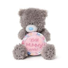 "4"" Best Mummy Ever Medal Me to You Bear"