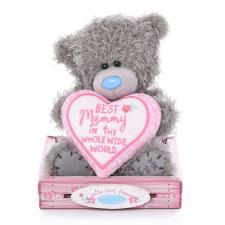 "7"" Mummy Heart Me to You Bear"