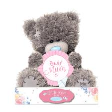 "7"" Best Mum Rosette Me to You Bear"