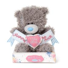 "7"" Mummy I Love You This Much Banner Me to You Bear"